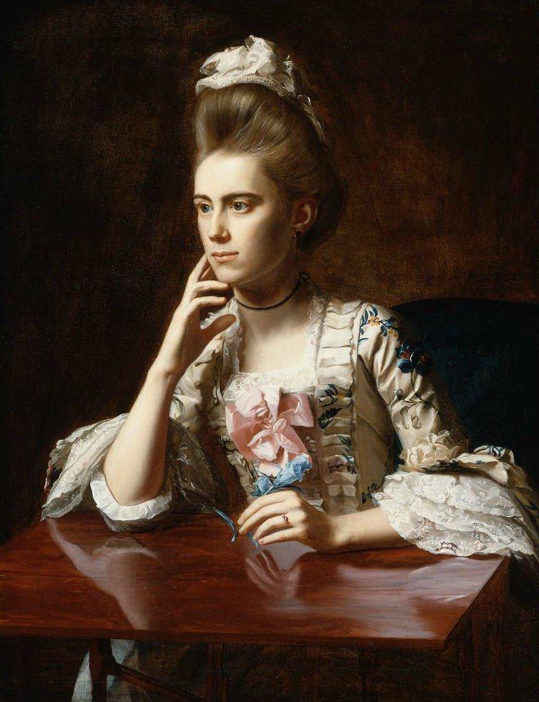 Mrs Richard Skinner Dorothy Wendell 1772 | John Singleton Copley | oil painting