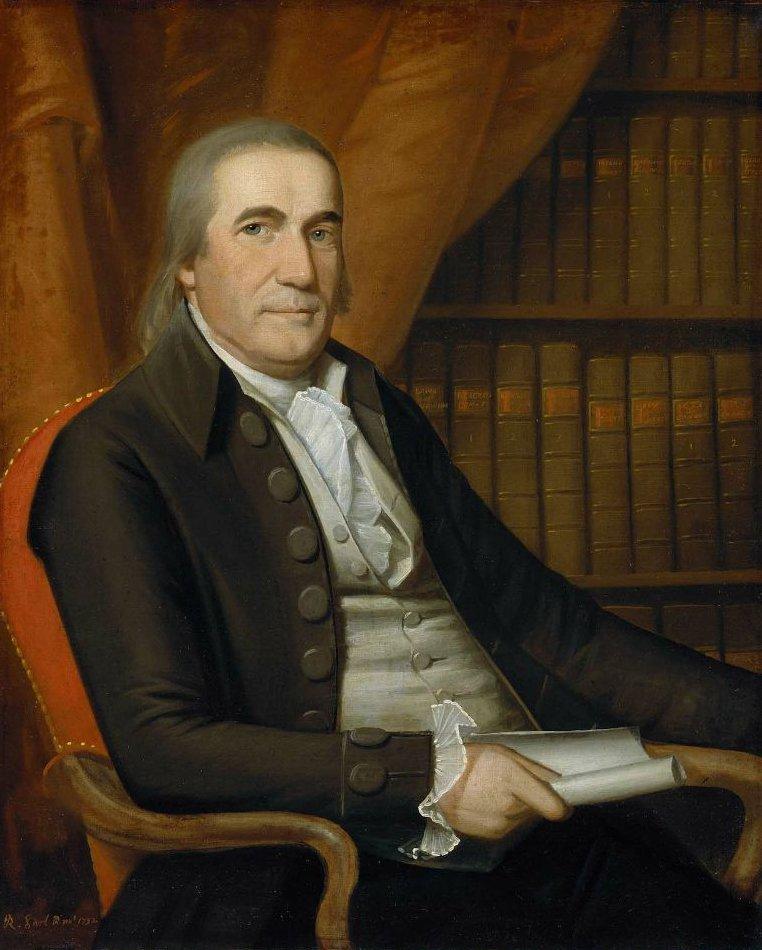 Ezra L Hommedieu 1792 | Ralph Earl | oil painting