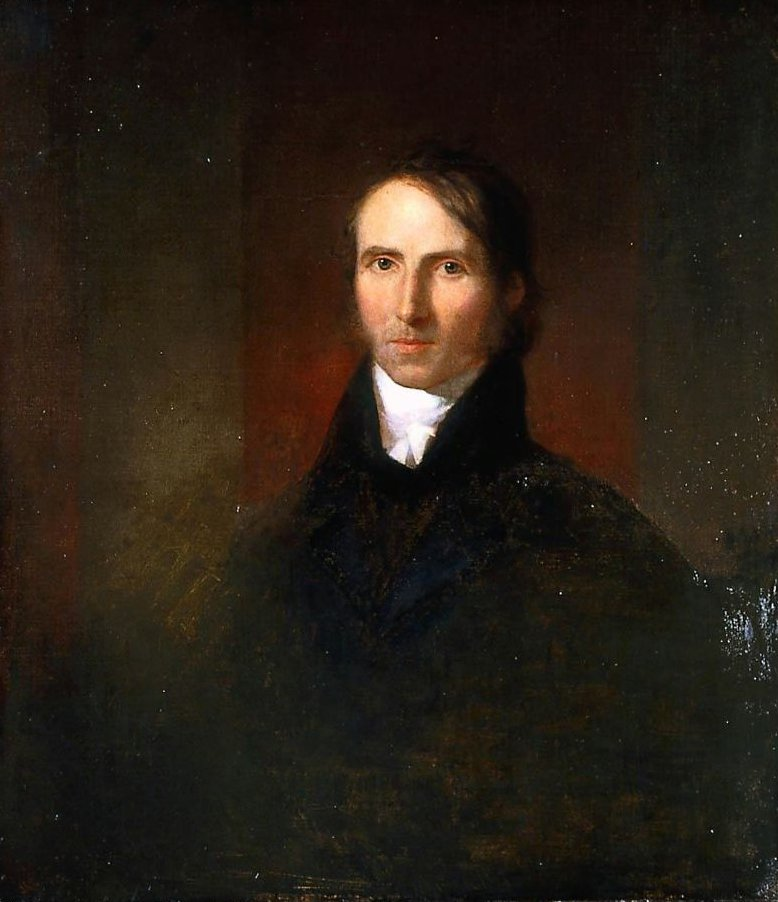 William Ellery Channing 1811 | Washington Allston | oil painting