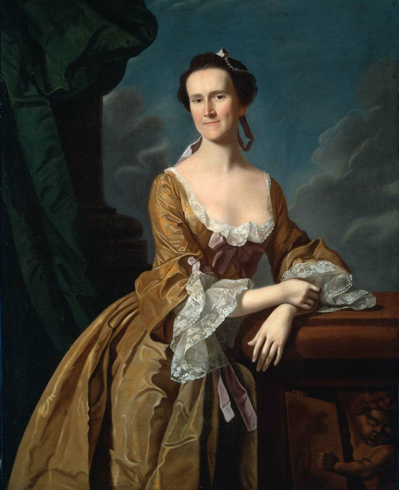 Mrs John Amory Katherine Greene 1763 | John Singleton Copley | oil painting