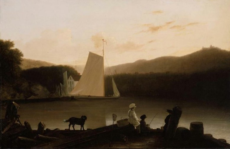 A Maine Inlet 1850s | Unidentified artist | oil painting