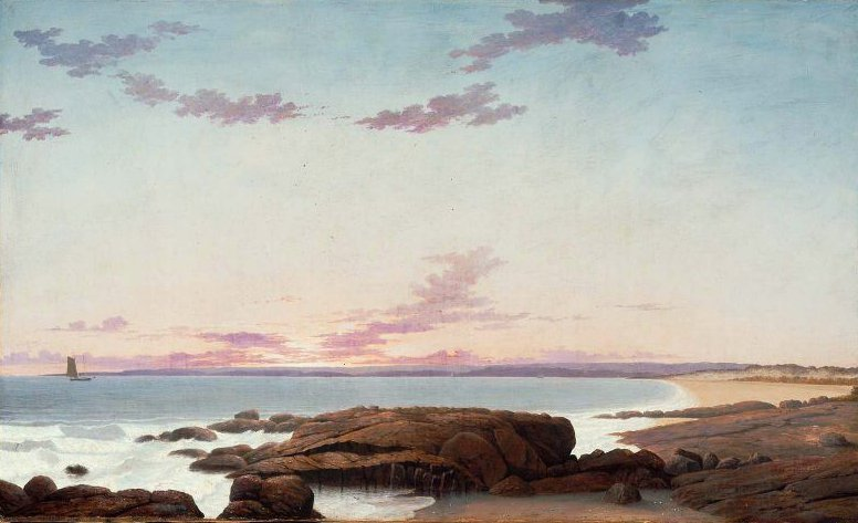 View of Coffins Beach 1862 | Fitz Henry Lane | oil painting