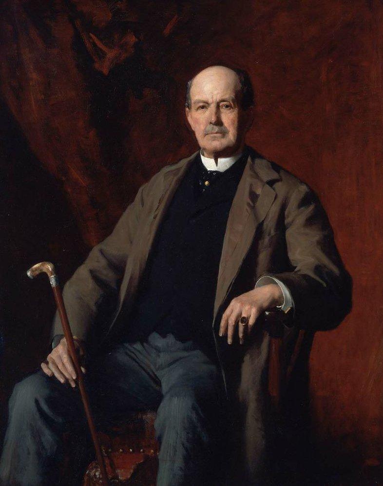 Alexander Moseley 1880s | Frederic Porter Vinton | oil painting