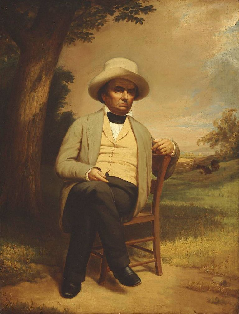 Daniel Webster at His Farm 1852 or after | Unidentified artist | oil painting