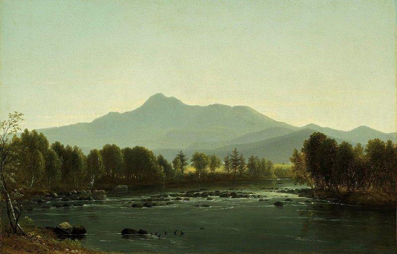 Mount Chocorua New Hampshire 1858   Benjamin Champney   oil painting