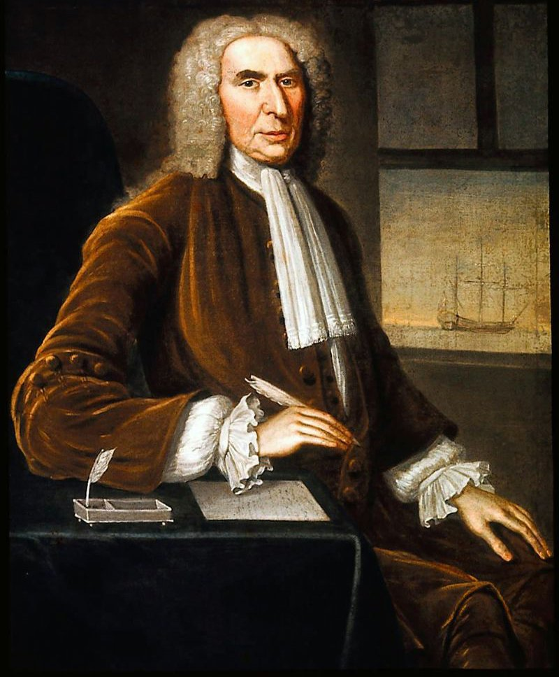 Judge Charles Chambers 1743 | John Smibert | oil painting