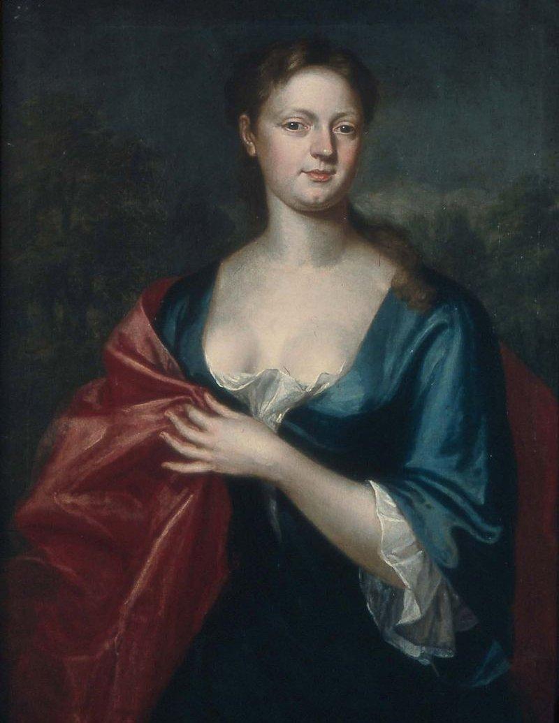 Mrs William Dudley Elizabeth Davenport 1729 | John Smibert | oil painting