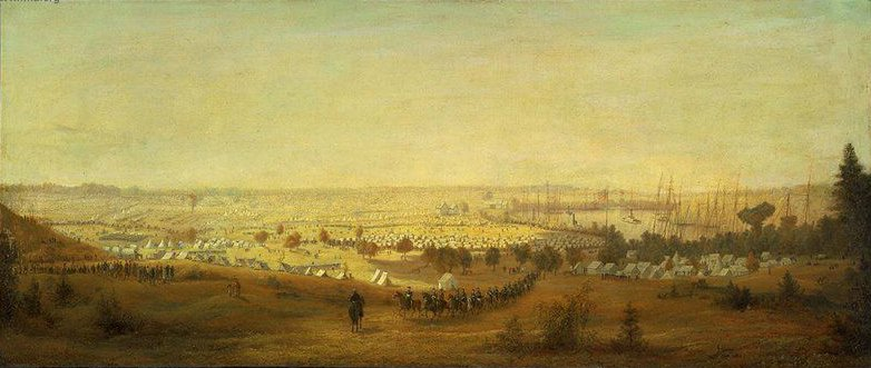 The Army of the Potomac 1865 | James Hope | oil painting