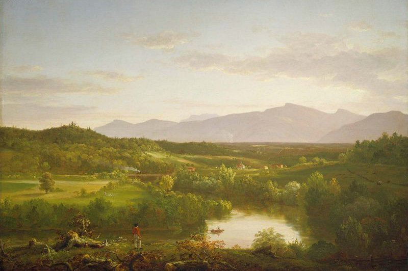 River in the Catskills 1843 | Thomas Cole | oil painting