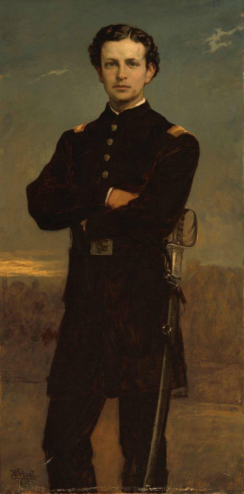 Lt Huntington Frothingham Wolcott 1867 | William Morris Hunt | oil painting