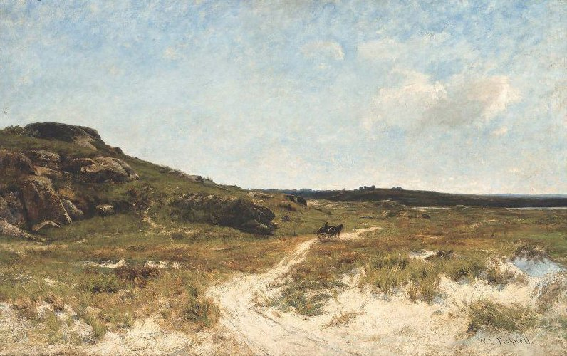 Sand Dunes of Essex Massachusetts 1885 | William Lamb Picknell | oil painting