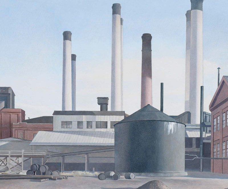 Fugue 1940 | Charles Sheeler | oil painting