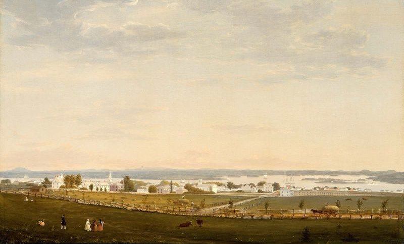 Castine Maine 1856 | Fitz Henry Lane | oil painting