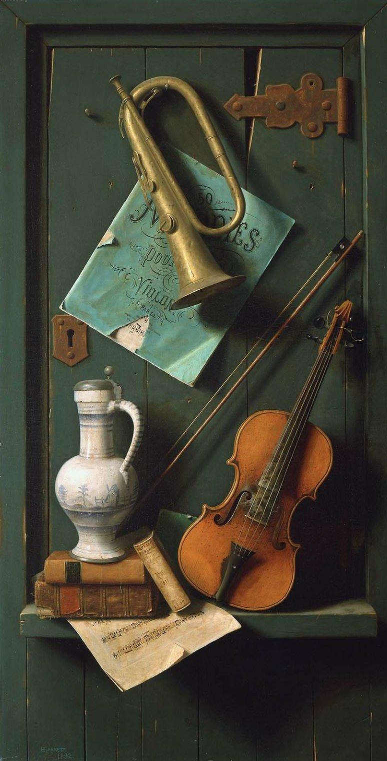 Old Models 1892 | William Michael Harnett | oil painting