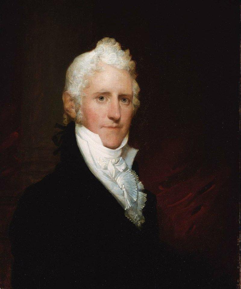 Dr Thomas Bartlett 1805 | Gilbert Stuart | oil painting