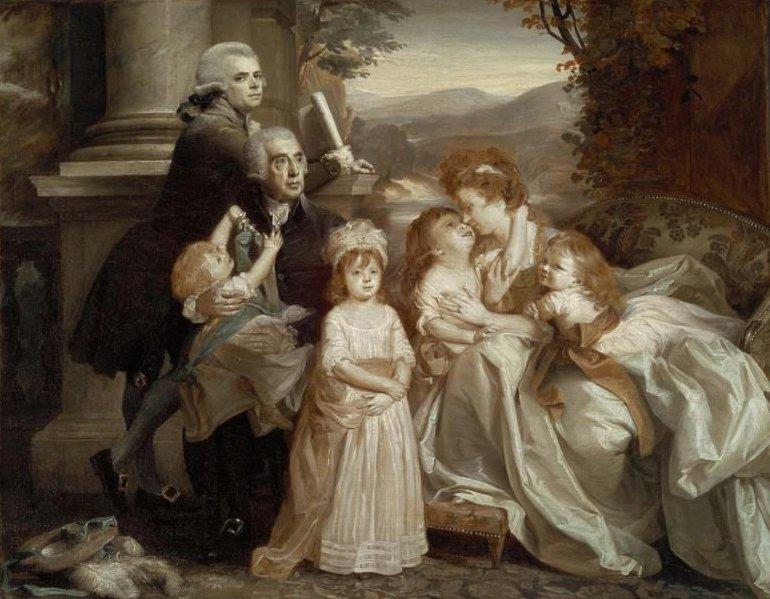 The Copley Family 1788 | John Singleton Copley | oil painting