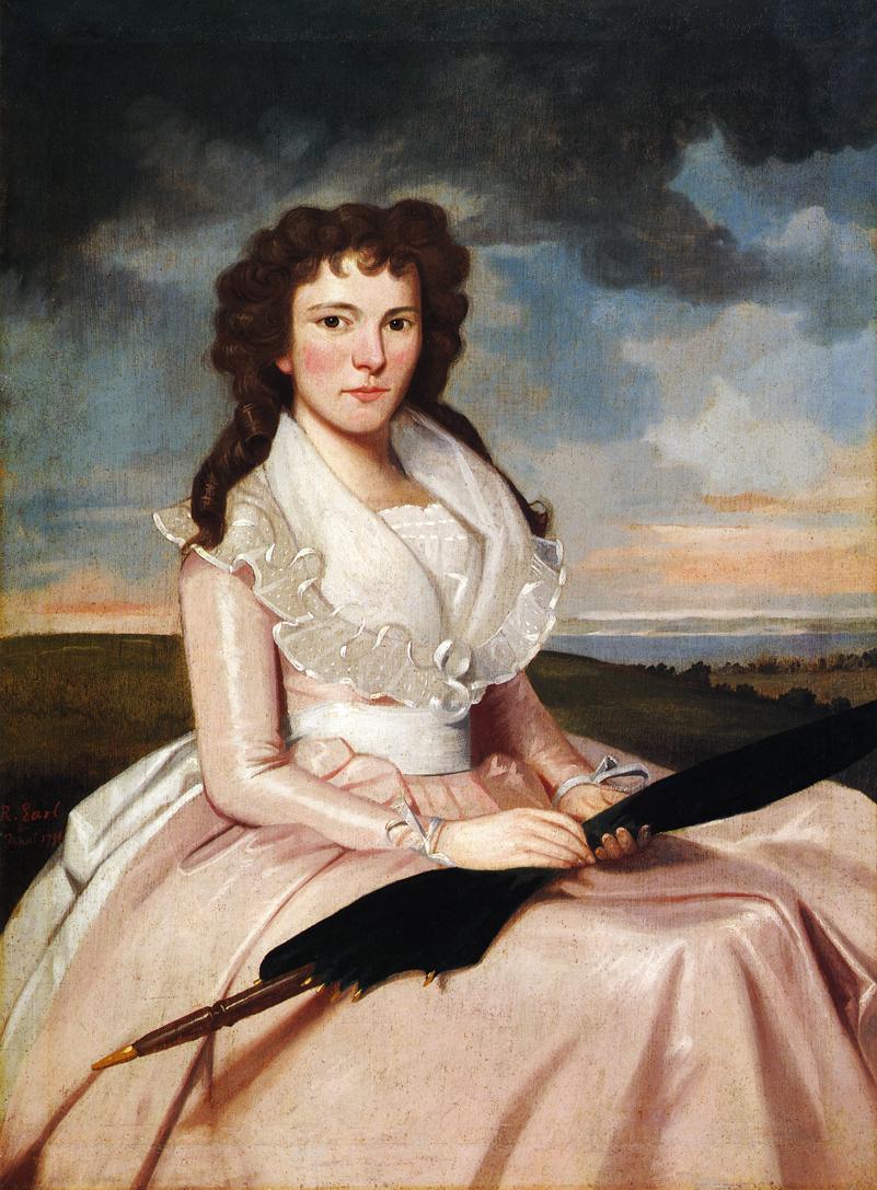 Hulda Bradley 1794 | Ralf Earl | oil painting