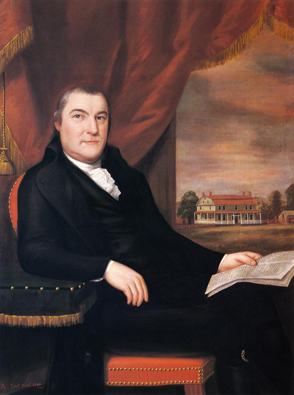 Captain Elijah Dewey 1798 | Ralf Earl | oil painting