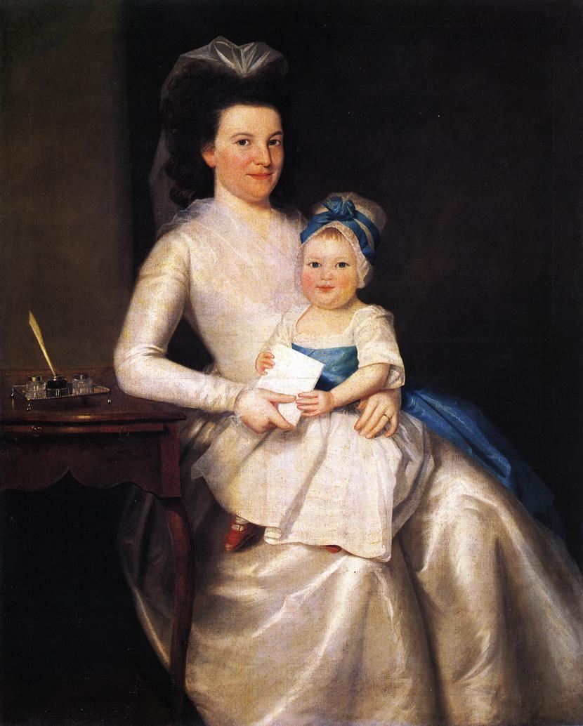 Lady Williams and Child 1783 | Ralf Earl | oil painting