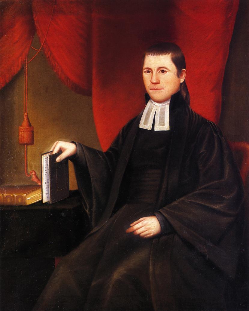 Reverend Ebenezer Porter 1804 | Ralf Earl | oil painting