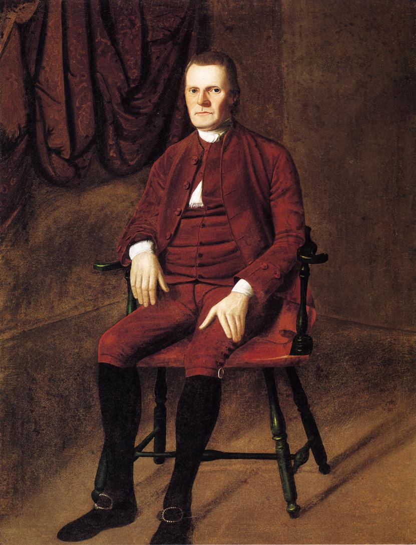 Roger Sherman 1775 1776 | Ralf Earl | oil painting
