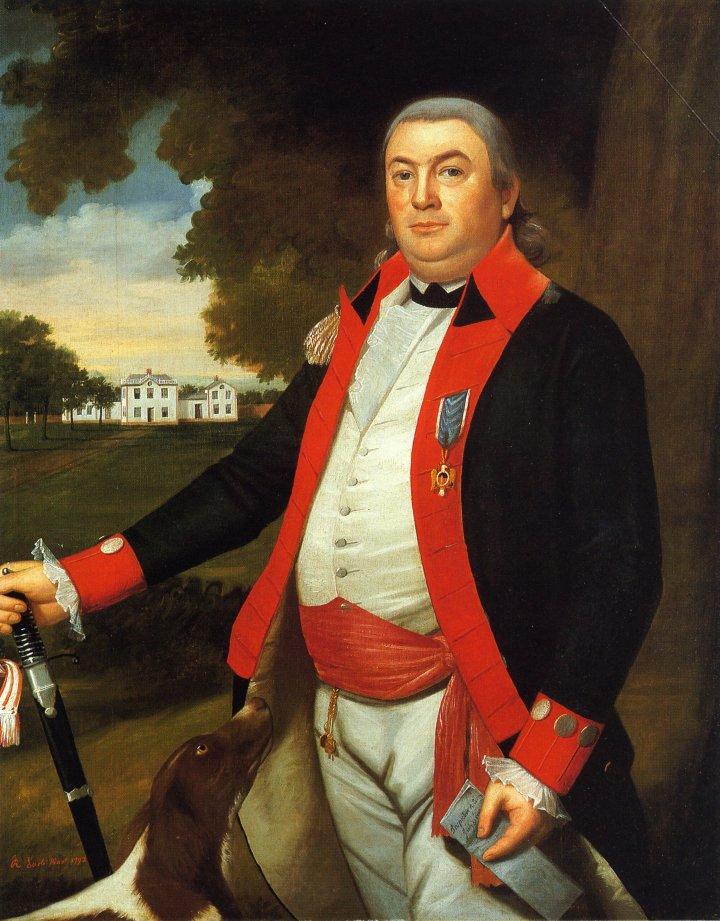 Captian John Pratt Middletown Connecticut 1792 | Ralf Earl | oil painting