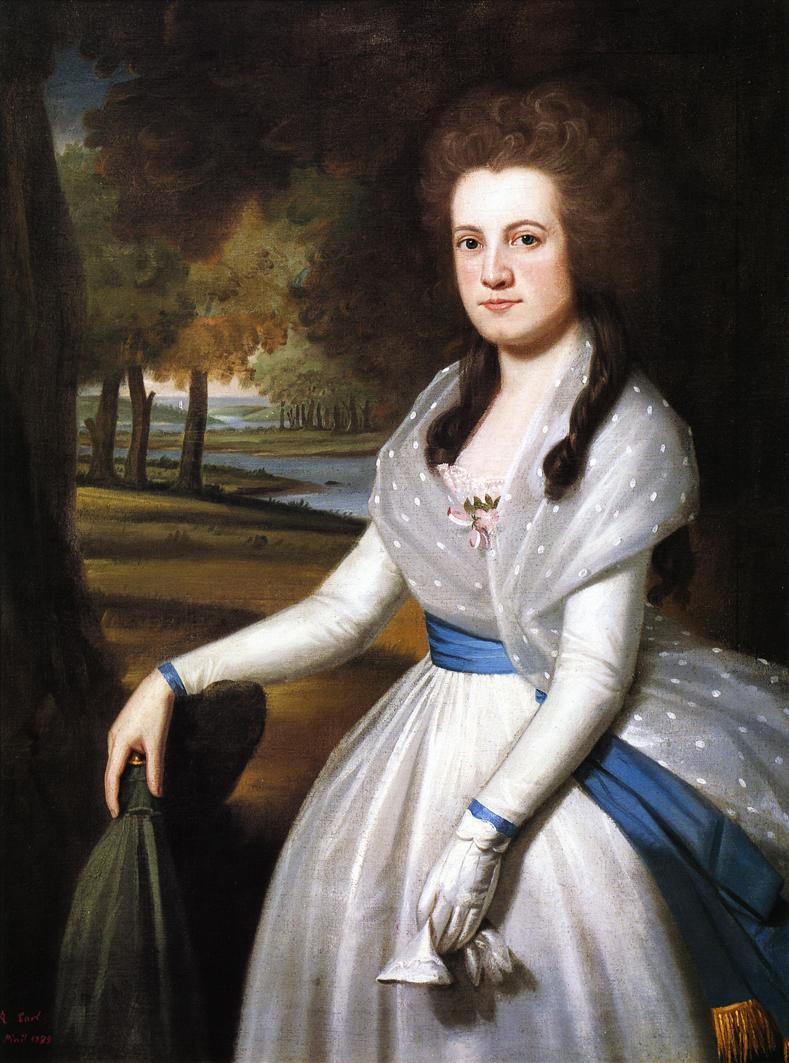 Mariann Wolcott 1789 | Ralf Earl | oil painting