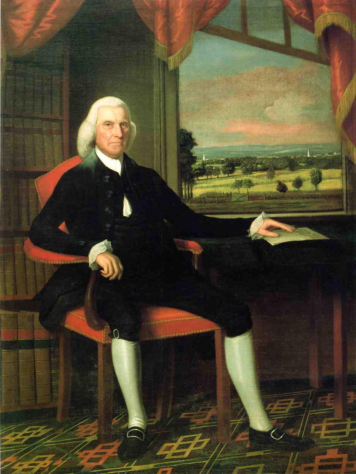 Colonel Samuel Talcott | Ralf Earl | oil painting