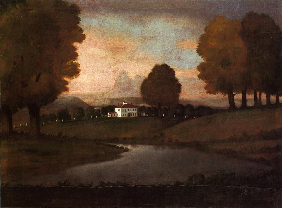Landscape of the Ruggles Homestead 1796 | Ralf Earl | oil painting