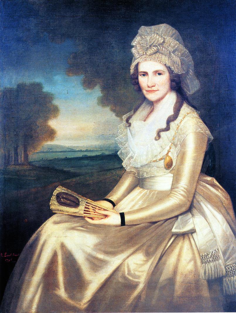 Mrs Jared Lane 1796 | Ralf Earl | oil painting