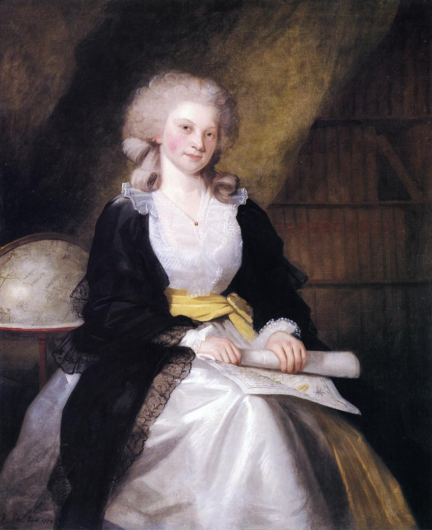 Ann Whiteside Earl 1784 | Ralf Earl | oil painting