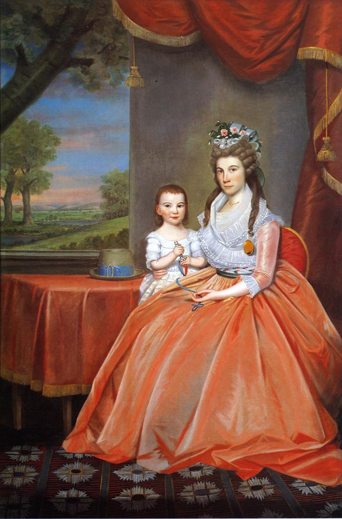 Mrs Elihaj Boardman and Son 1796 | Ralf Earl | oil painting