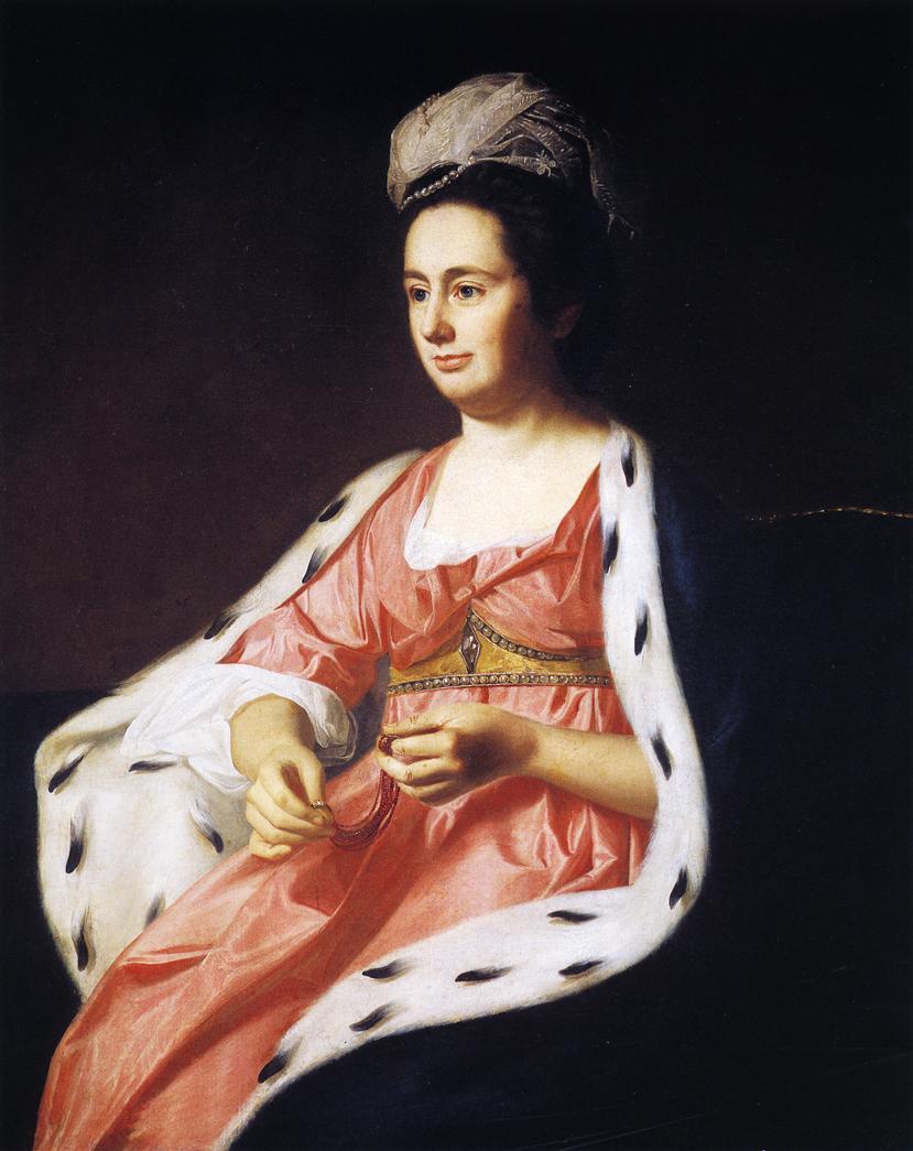 Mrs Adam Babcock 1774 | Ralf Earl | oil painting