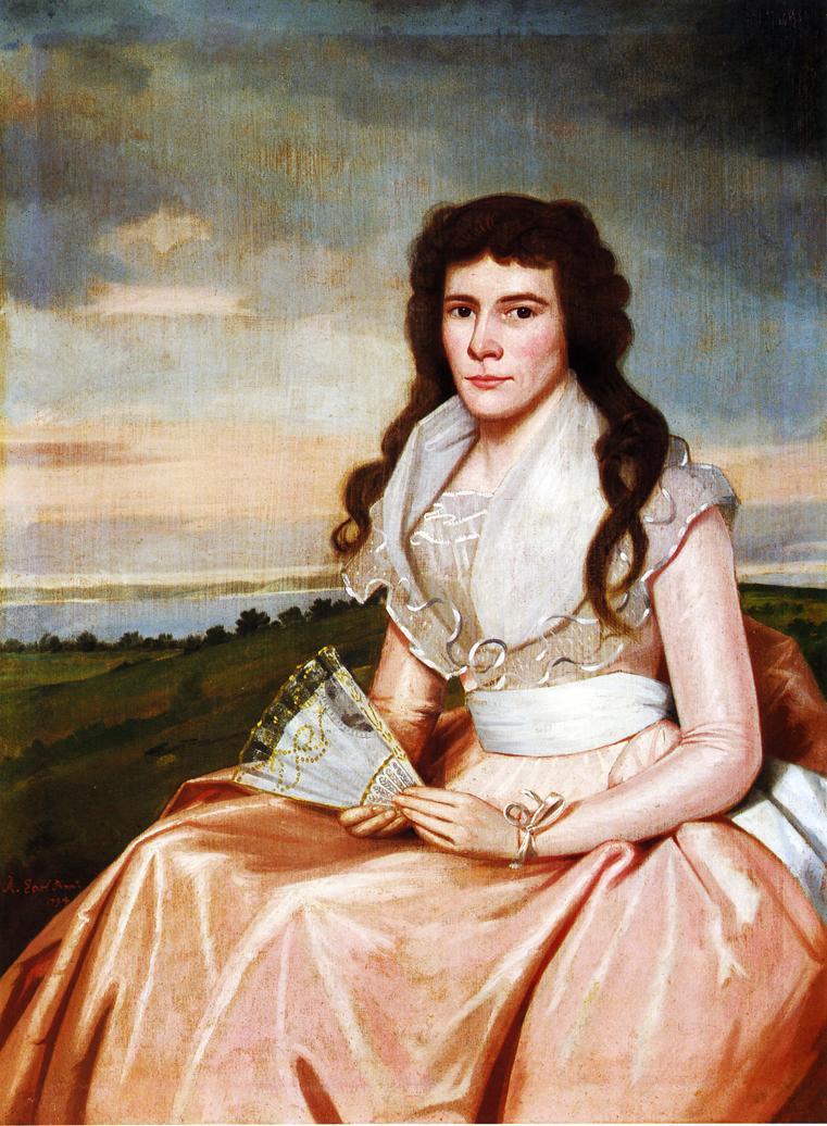 Lucy Bradley 1794 | Ralf Earl | oil painting