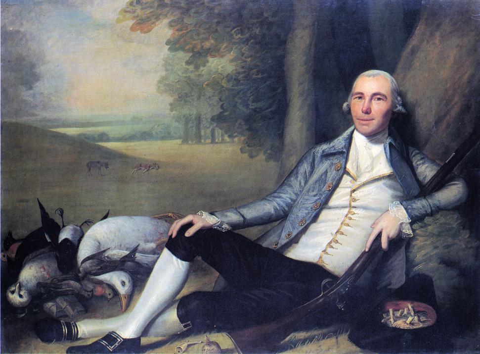 Reclining Hunter 1783 1784 | Ralf Earl | oil painting
