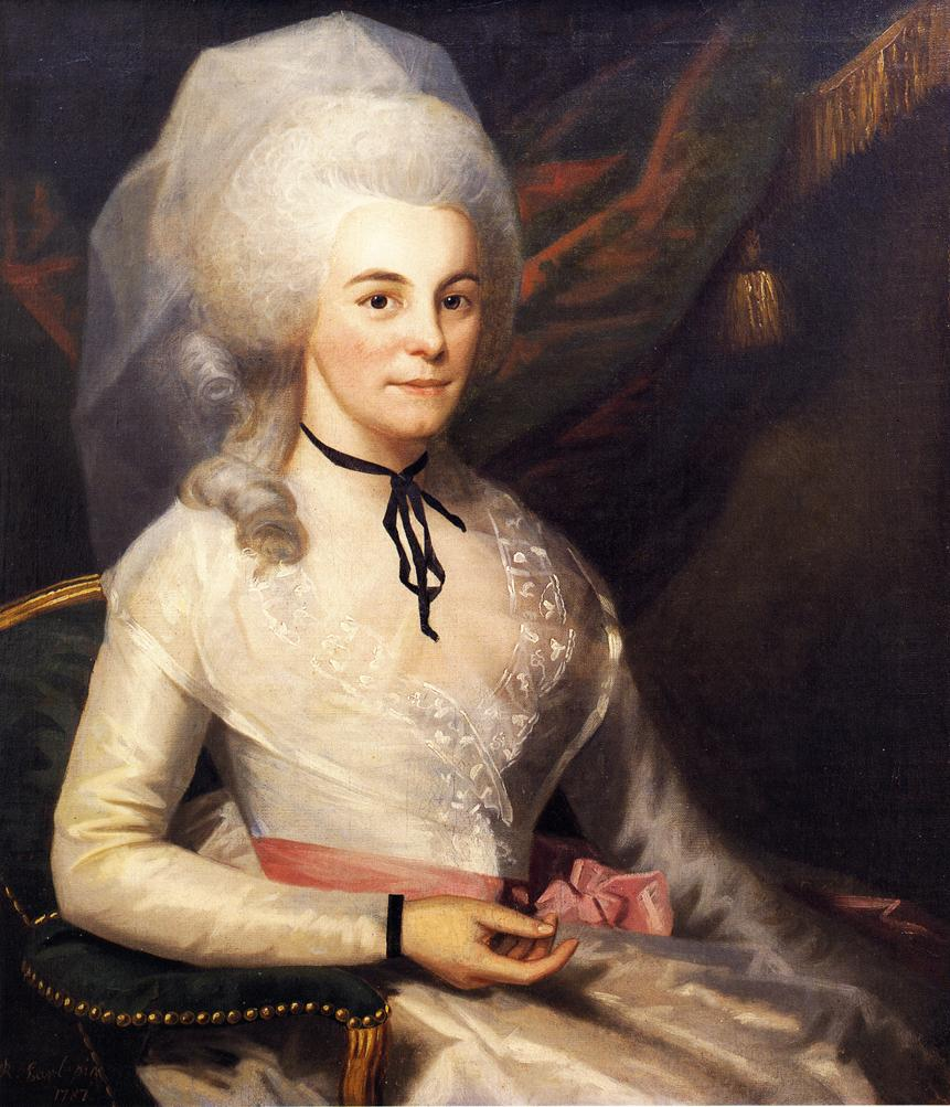 Mrs Alexander Hamilton 1787 | Ralf Earl | oil painting