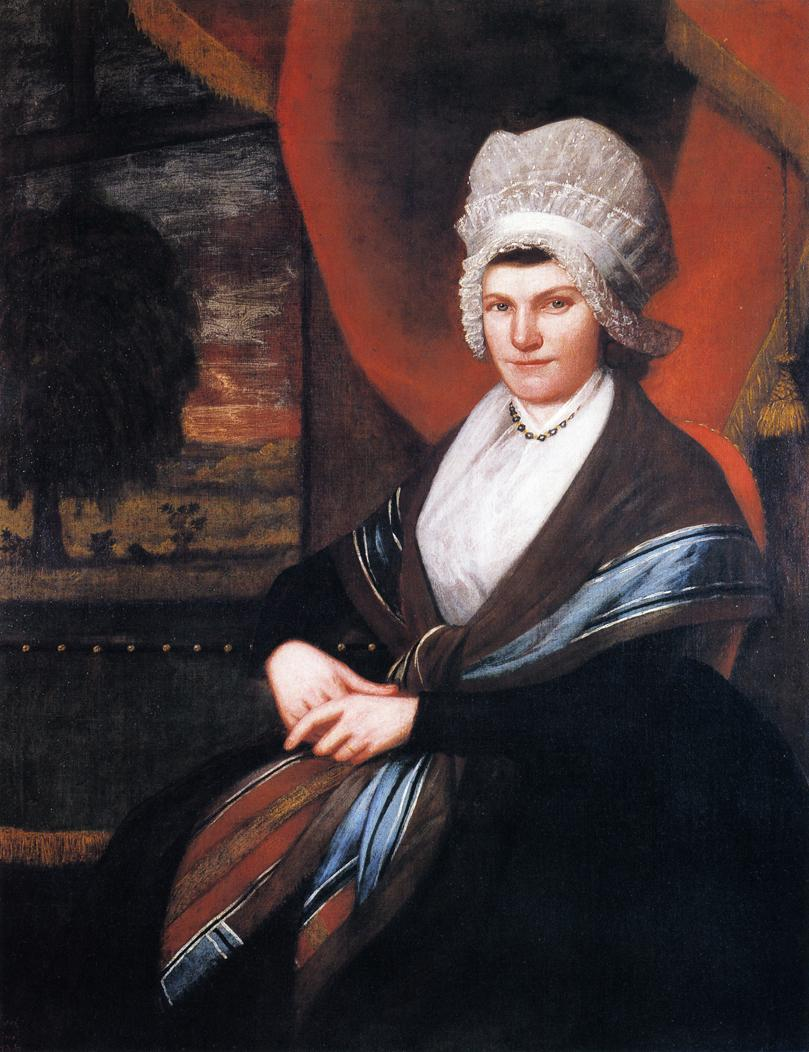 Mrs Elijah Dewey 1798 | Ralf Earl | oil painting