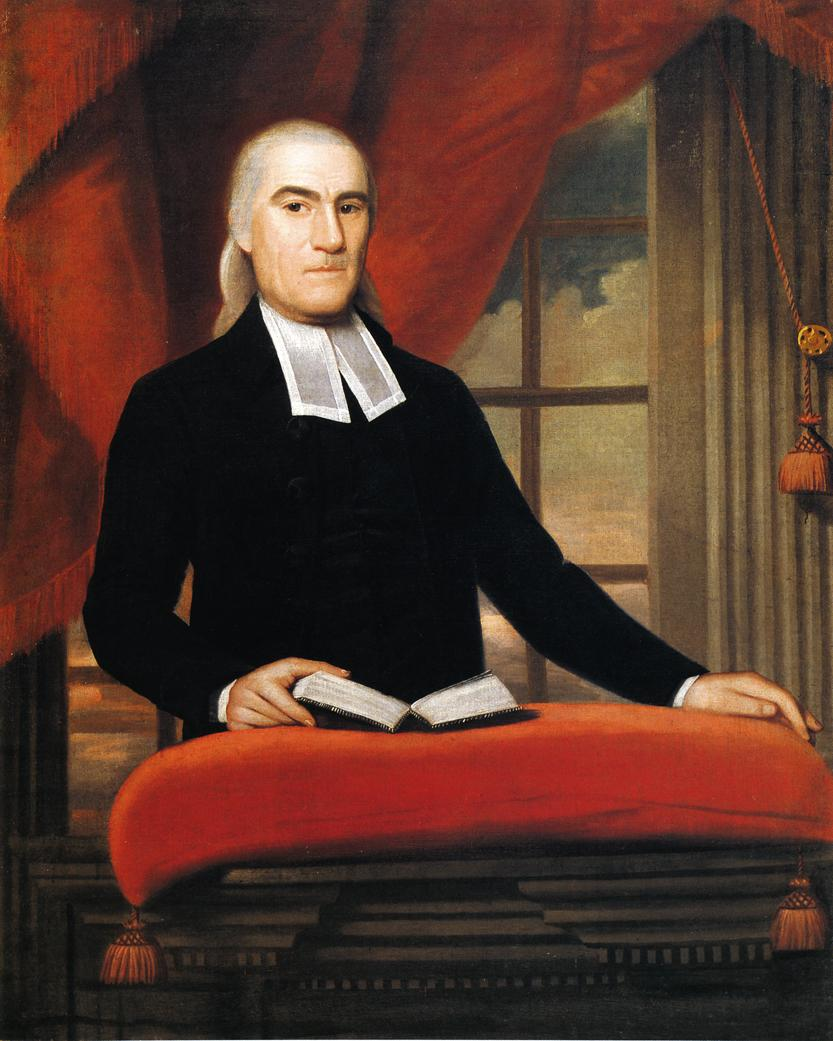 Reverend Nathaniel Taylor 1790 | Ralf Earl | oil painting