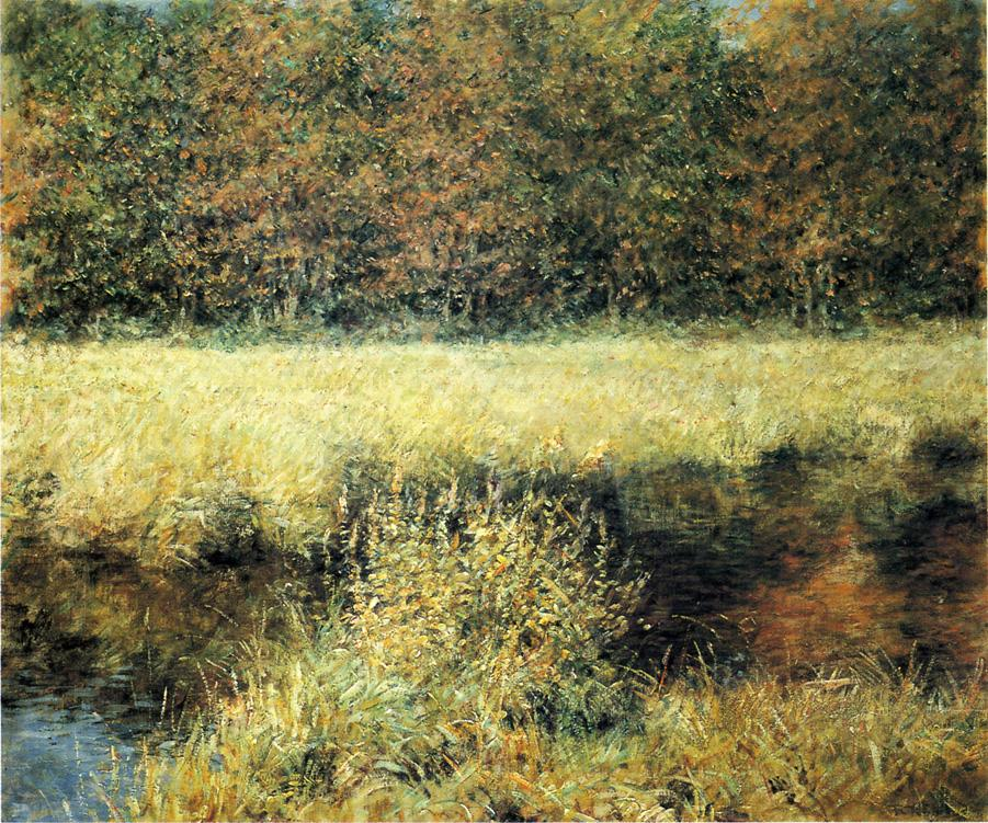 Autumn Landscape Date unknown | Robert Lewis Reid | oil painting