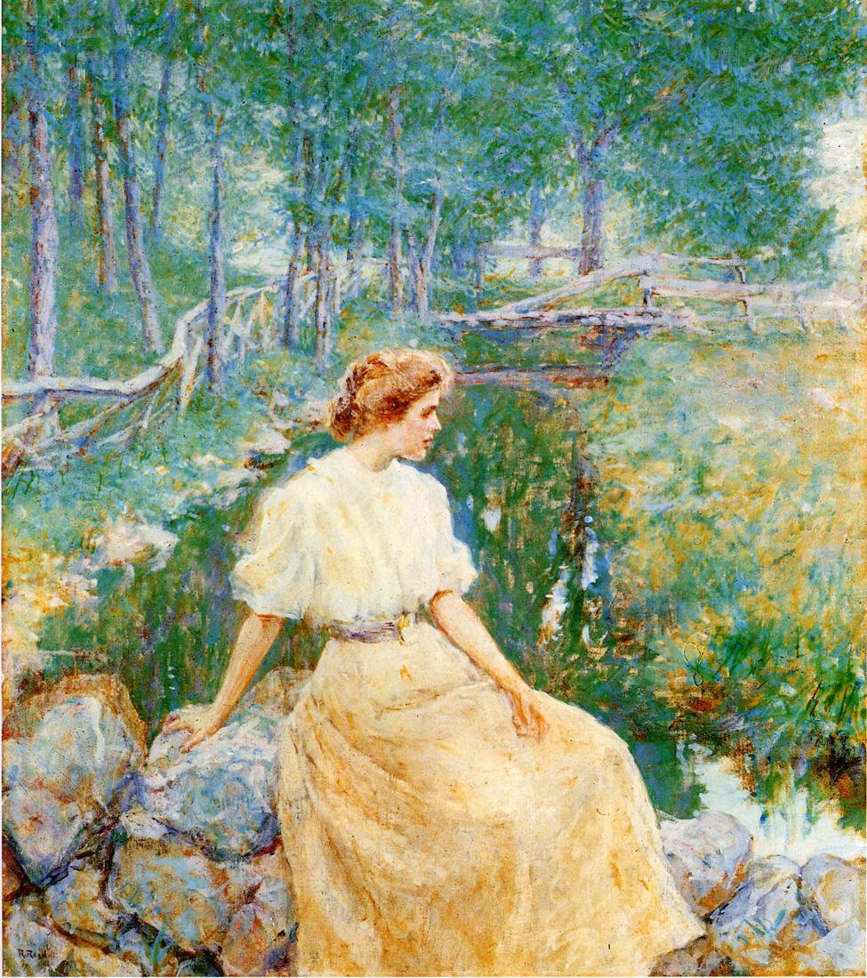 Spring 1906 | Robert Lewis Reid | oil painting