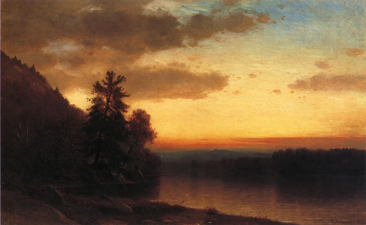 Adirondack Twilight 1864 | Samuel Colman Jr | oil painting