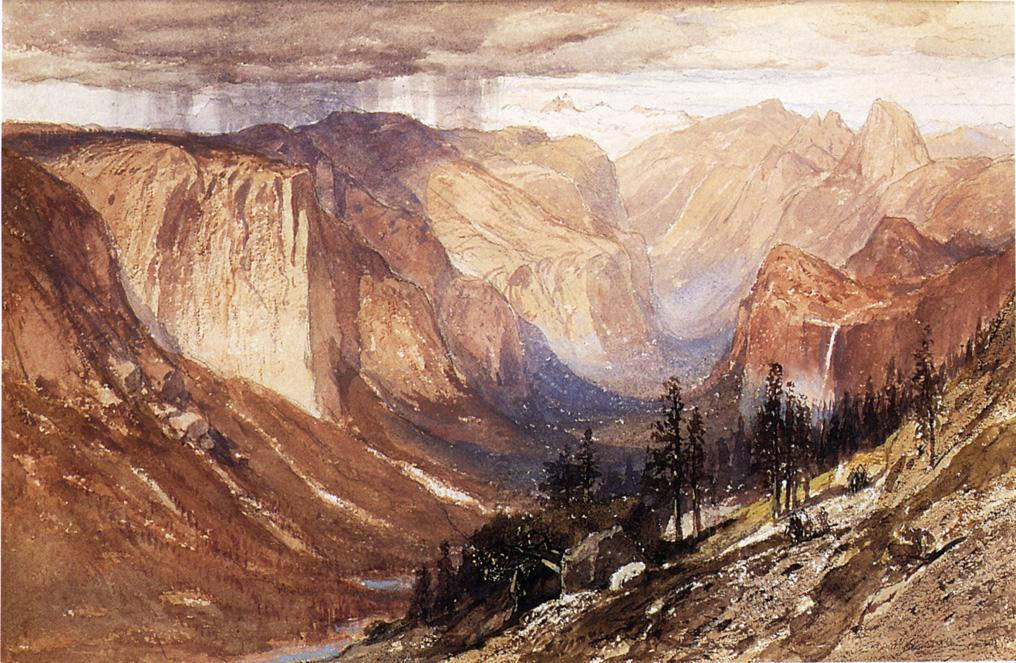 Yosemite Valley California 1888 | Samuel Colman Jr | oil painting