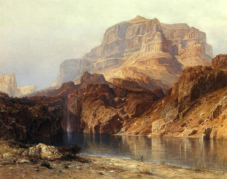 Solomons Temple Colorado 1888 | Samuel Colman Jr | oil painting