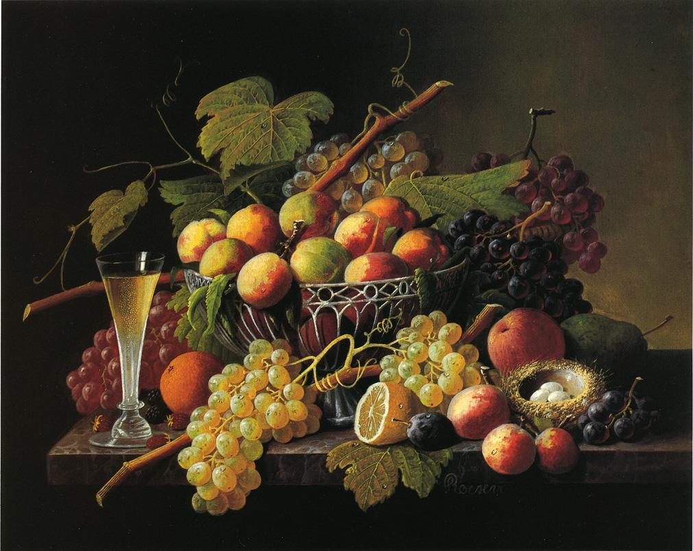 Still Life Date unknown | Severin Roesen | oil painting