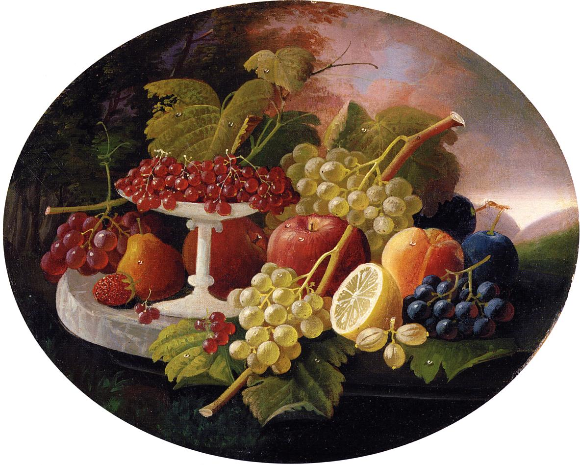 Fruit Date unknown | Severin Roesen | oil painting