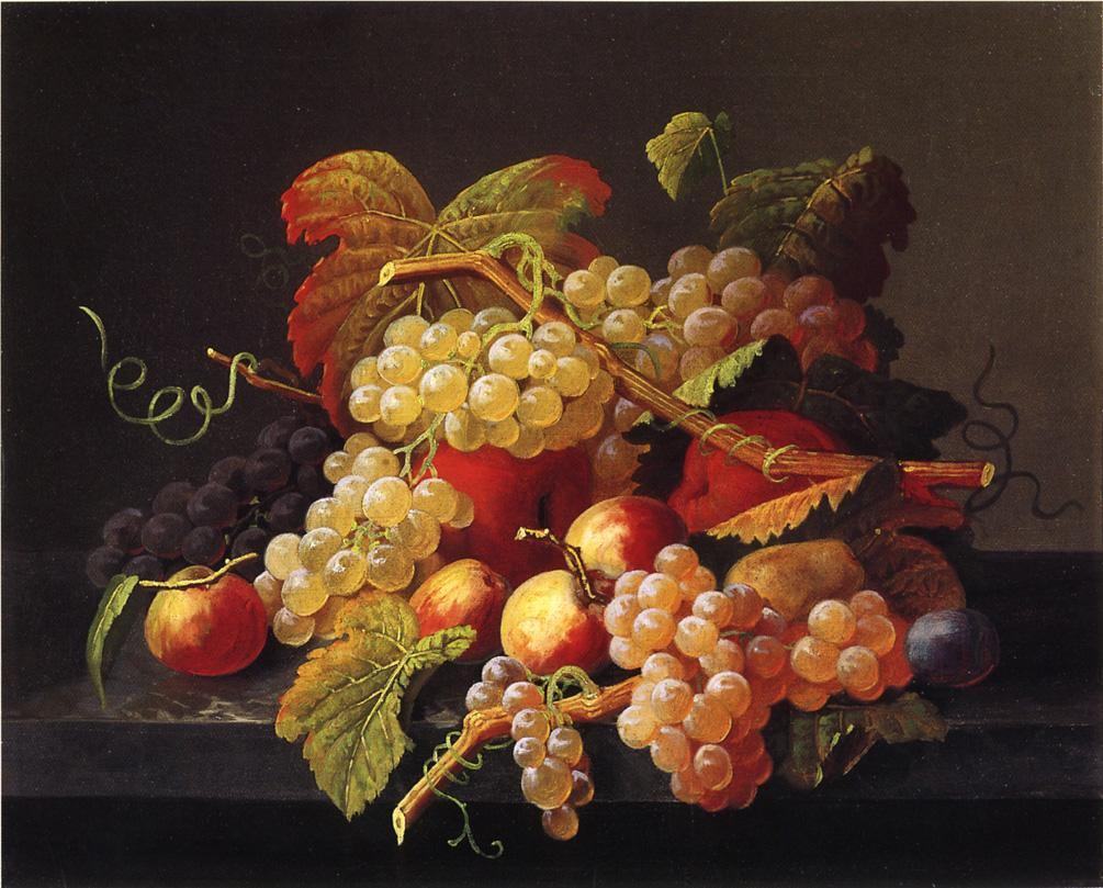 Still Life of Frit 1862 1872 | Severin Roesen | oil painting