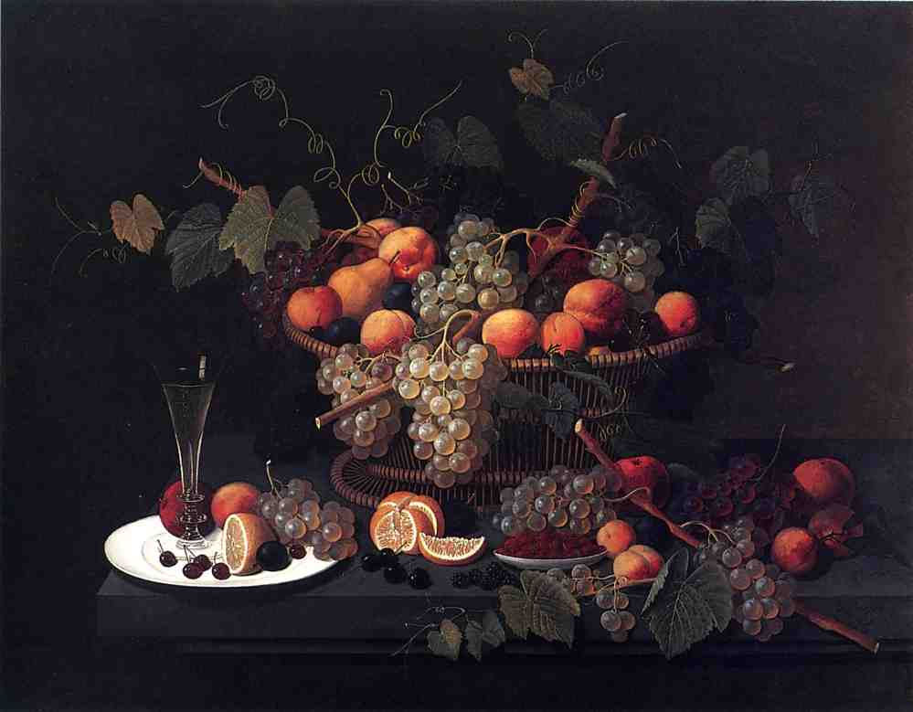 Still Life Champagne and Fruit 1851 | Severin Roesen | oil painting