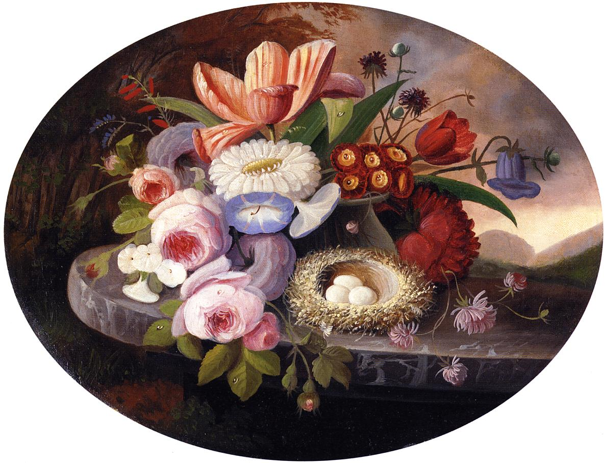Flowers Date unknown | Severin Roesen | oil painting