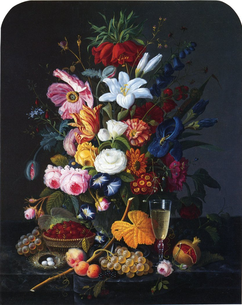 Floral Still Life Date unknown | Severin Roesen | oil painting