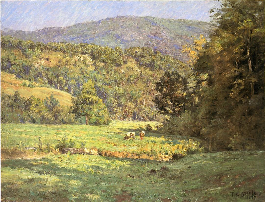 Roan Mountain 1899 | Theodore Clement Steele | oil painting